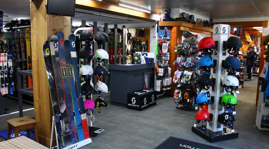 location de ski contamines mermoud sports